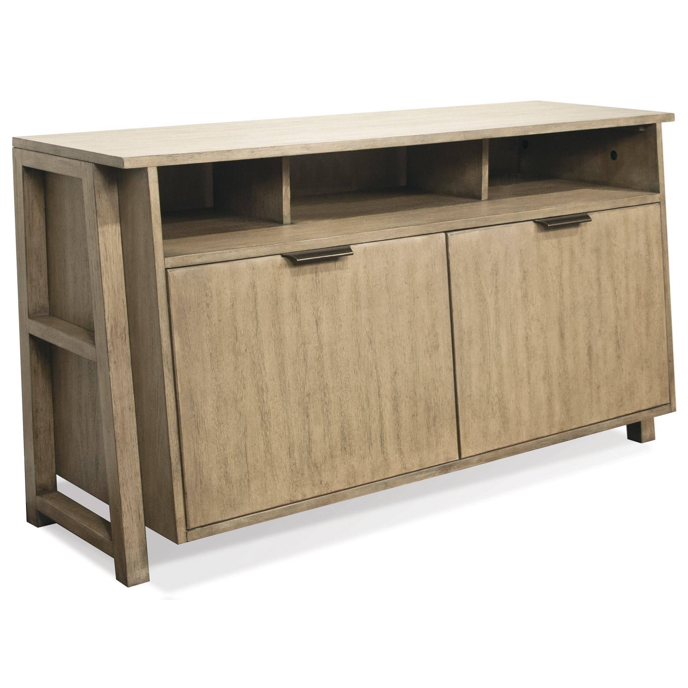 Riverside furniture perspectives entertainment console