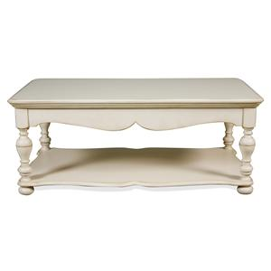 Riverside Furniture Placid Cove Rectangular Cocktail Table