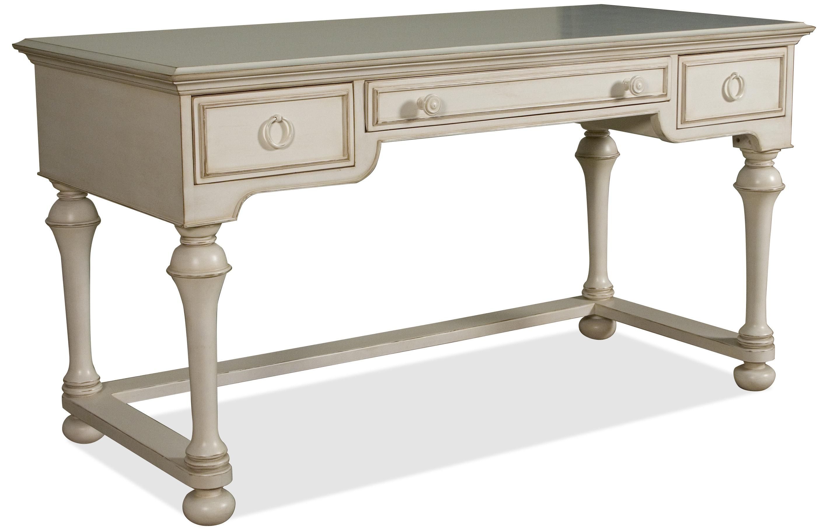 silver marble number item steve writing monarch white drawers desk with products drawer top
