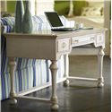 Riverside Furniture Placid Cove Writing Desk with 3 Drawers - Shown in Room Setting