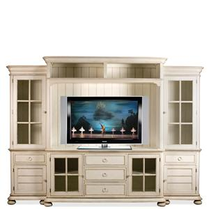 Riverside Furniture Placid Cove Entertainment Wall Unit