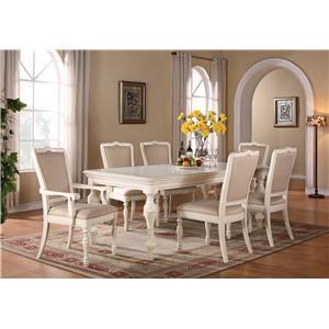 Riverside Furniture Placid Cove 7 Piece Table & Chair Set