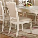 Riverside Furniture Placid Cove Upholstered Side Chair with Turned Legs