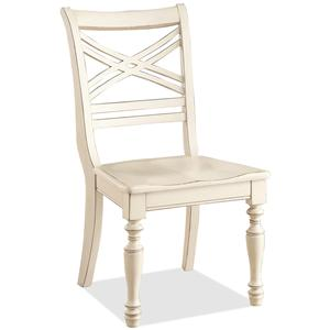 Riverside Furniture Placid Cove X-Back Side Chair