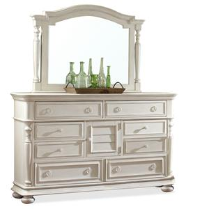 Riverside Furniture Placid Cove Dresser & Mirror