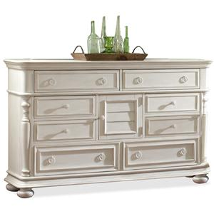 Riverside Furniture Placid Cove Door Dresser