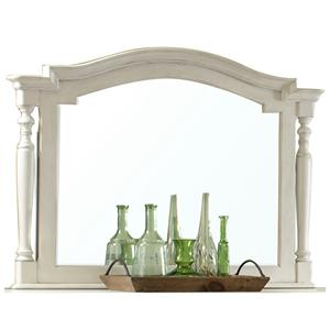 Riverside Furniture Placid Cove Landscape Mirror