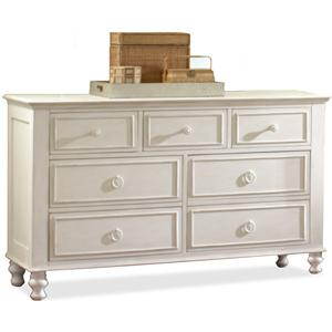 Riverside Furniture Placid Cove 7 Drawer Dresser