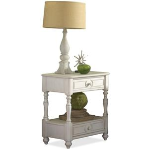 Riverside Furniture Placid Cove Drawered Nightstand