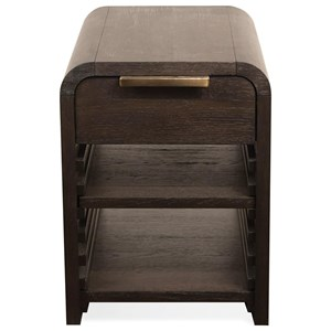 Riverside Furniture Precision Chairside Table