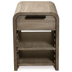 Riverside Furniture Precision Chairside Table