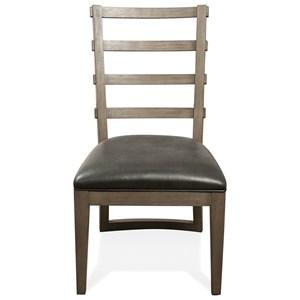 Riverside Furniture Precision Uph Ladrbak Sid Chair 2in