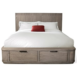 Queen Low Storage Bed