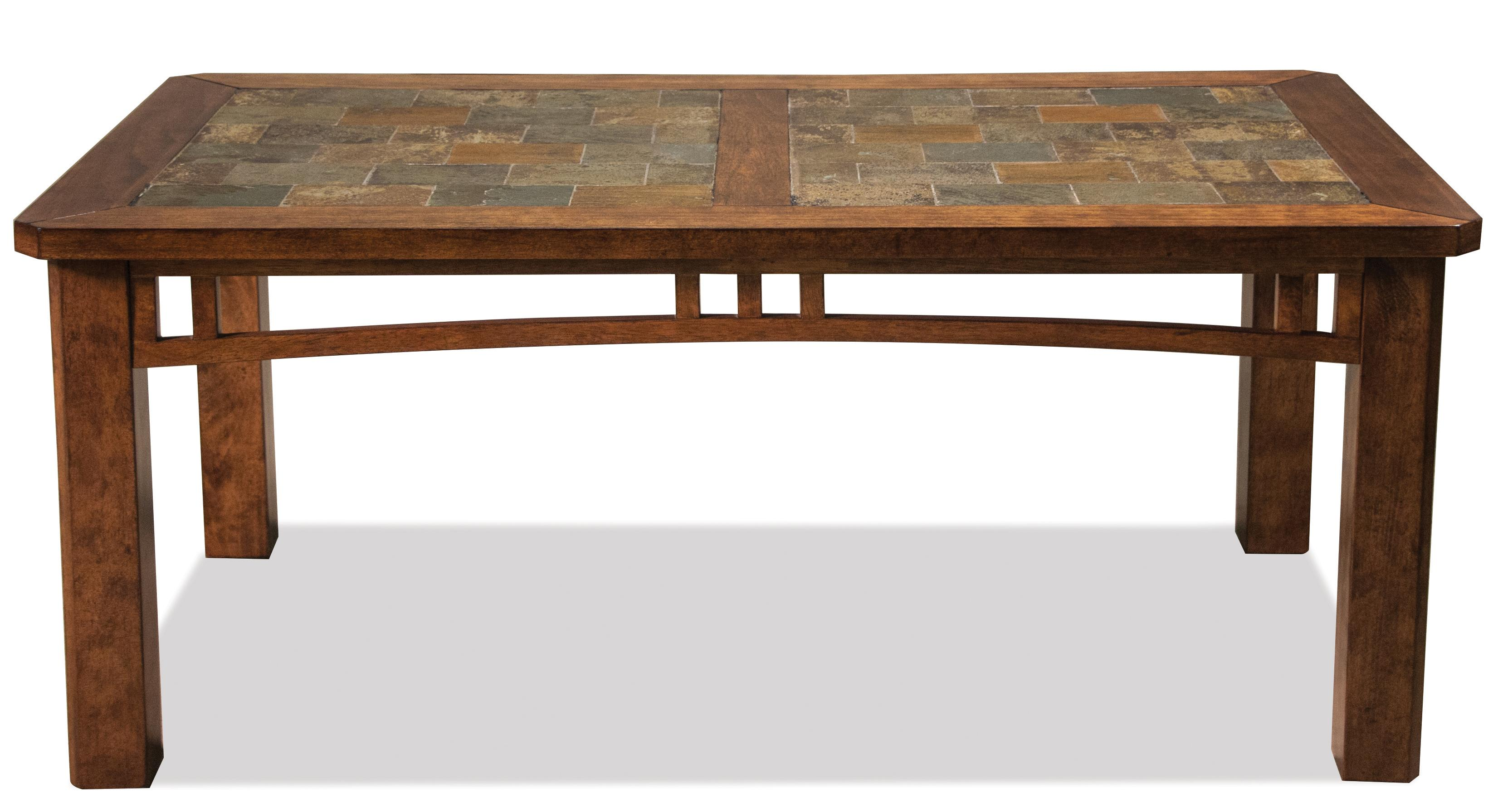 Riverside Furniture Preston Coffee Table w Slate Top Wayside