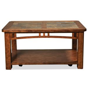 Riverside Furniture Preston Caster Coffee Table
