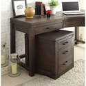 Riverside Furniture Promenade  3 Drawer Curved Corner Desk