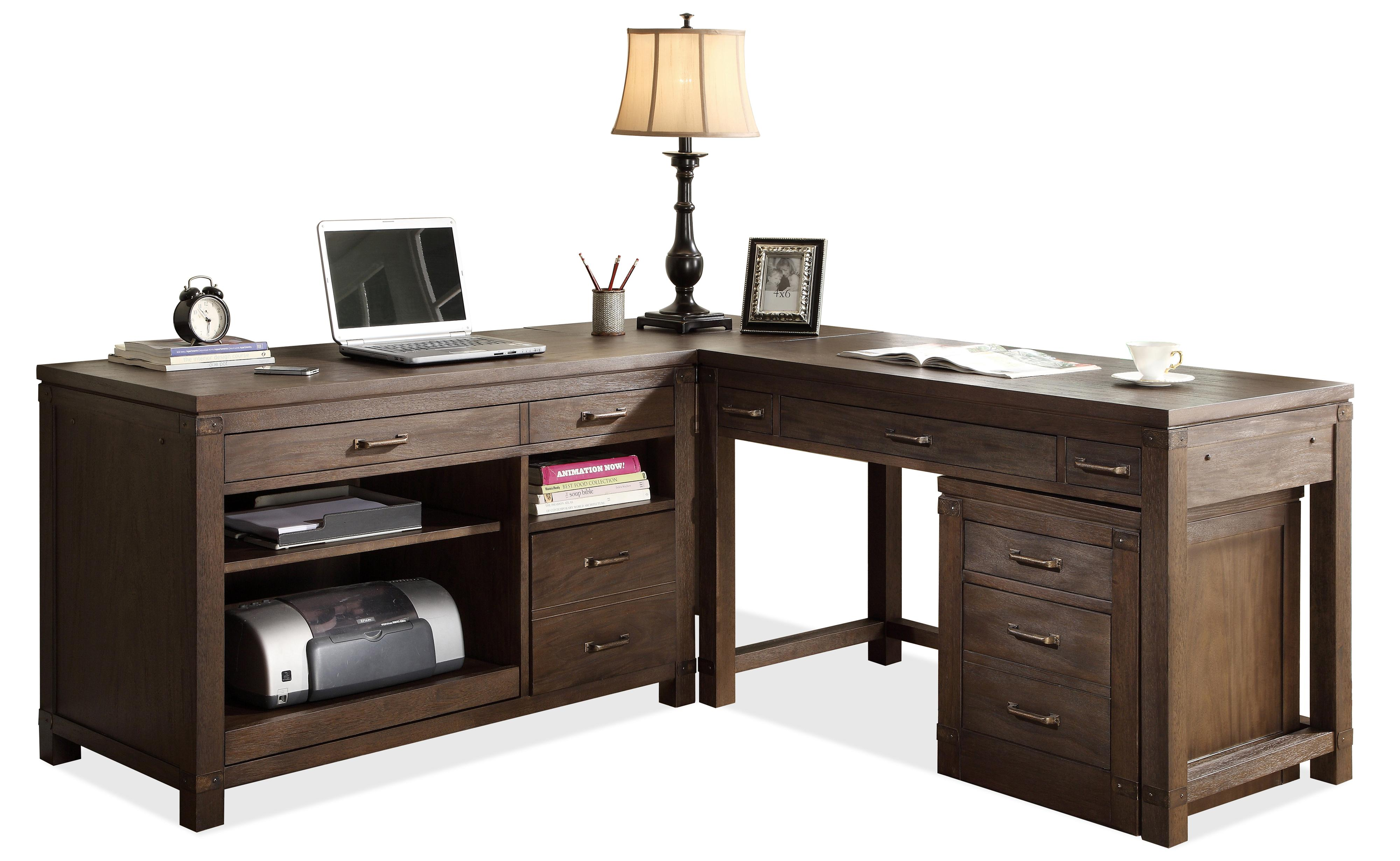 large for office shaped desk file hutch l computer furniture rustic with cabinet curved home filing workstation