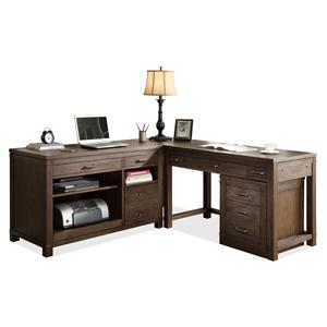 Riverside Furniture Promenade  L-Shaped Desk