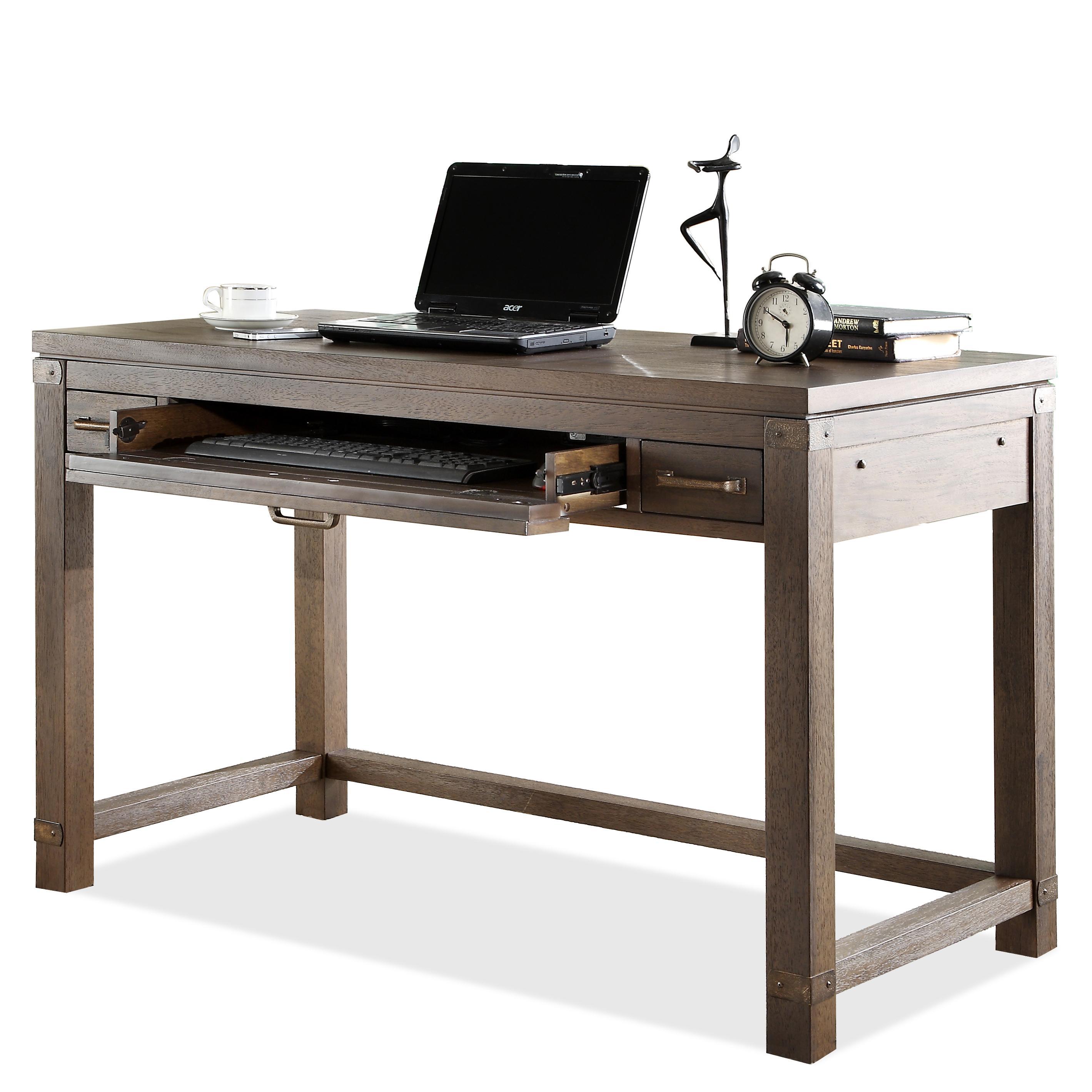 riverside furniture promenade 84532 writing desk with pull out drawer dunk bright furniture. Black Bedroom Furniture Sets. Home Design Ideas