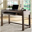 Riverside Furniture Promenade  Writing Desk with Pull Out Drawer - Shown in Room Setting
