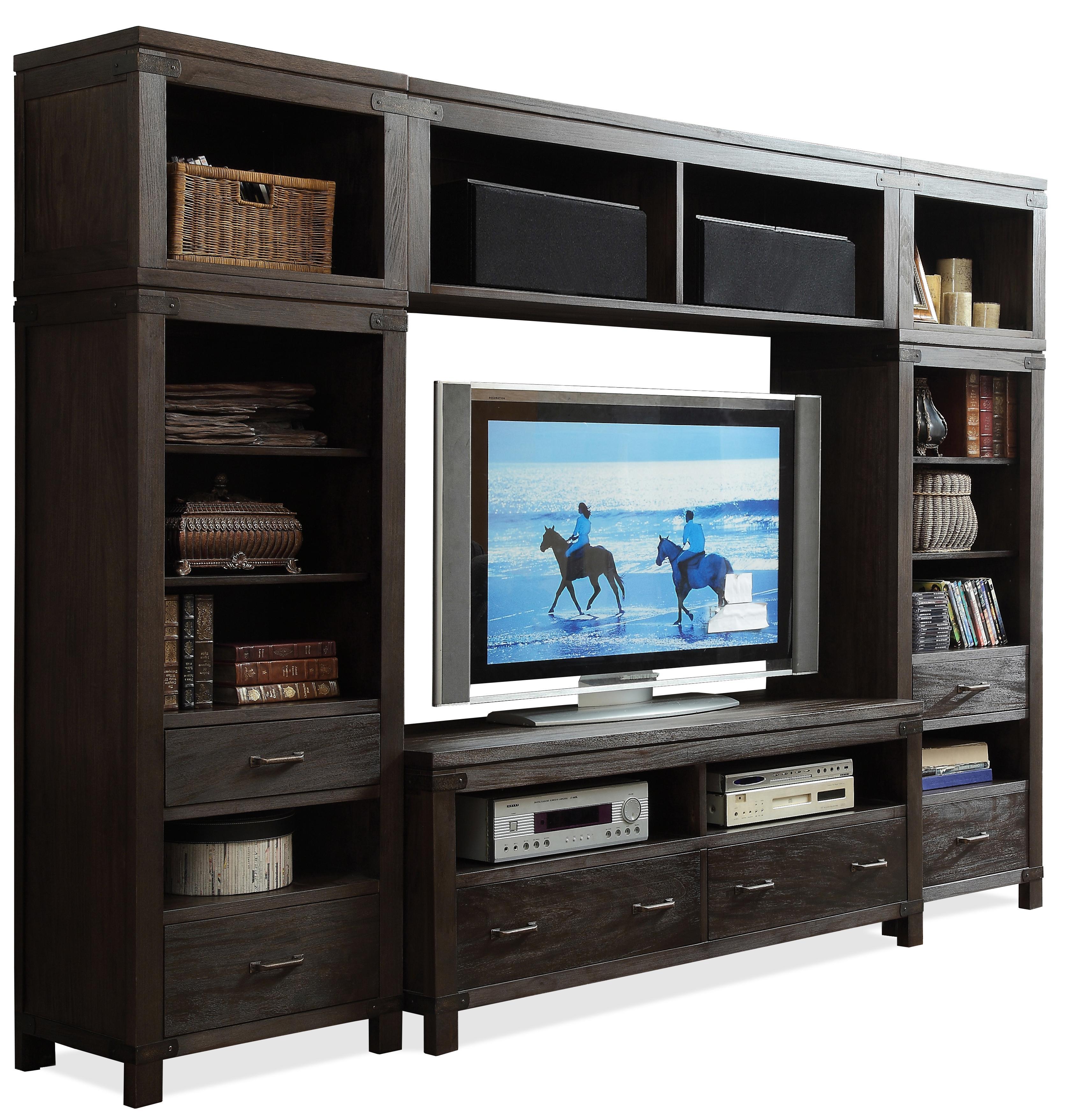 riverside furniture promenade entertainment wall unit ahfa