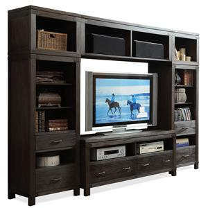Riverside Furniture Promenade  Entertainment Wall Unit