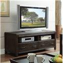 Riverside Furniture Promenade  60-In TV Console - Shown in Room Setting