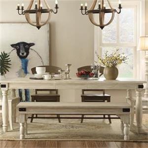 Riverside Furniture Regan Dining Bench