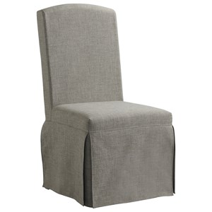 Upholstered Slipcover Chair