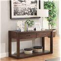 Riverside Furniture Riata Contemporary 2-Drawer Console Table