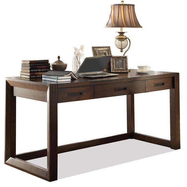 Riverside Furniture Riata Contemporary Writing Desk Ahfa Table Dealer Locator
