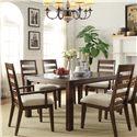 Riverside Furniture Riata 7-Pc Rectangular Dining Table Set