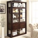 Riverside Furniture Riata China Cabinet w/ Glass Doors