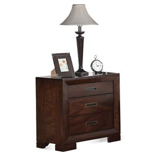 Riverside Furniture Riata 3-Drawer Nightstand