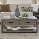 Riverside Furniture Riata Gray Rectangular Cocktail Table - Item Number: 79802