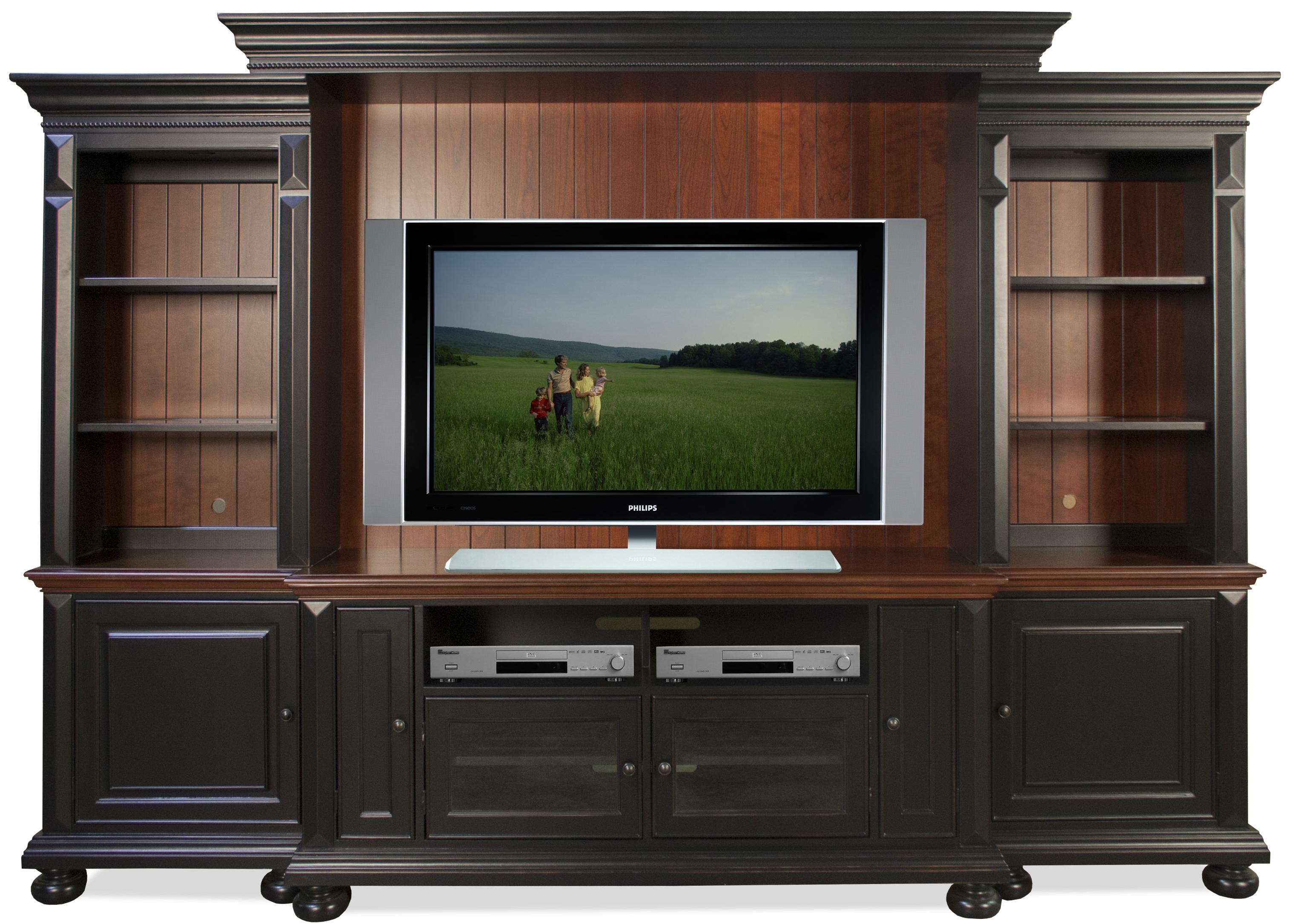 Riverside Furniture Richland Entertainment Wall Unit   AHFA   Wall Unit  Dealer Locator
