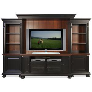 Riverside Furniture Richland Entertainment Wall Unit