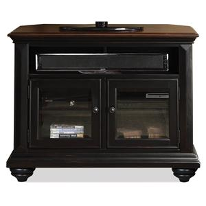 Riverside Furniture Richland Corner Tv Console