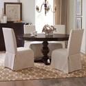 Riverside Furniture Rosemoor 5-Piece Round Dining Table Set - Item Number: 73253+52+4x59