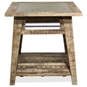 Riverside Furniture Rowan Side Table - Item Number: 12309