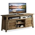 Riverside Furniture Rowan 66-Inch TV Console - Item Number: 12344