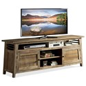 Riverside Furniture Rowan 76-Inch TV Console - Item Number: 12345