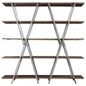 Riverside Furniture Ryder Double-X Bookcase - Item Number: 18417