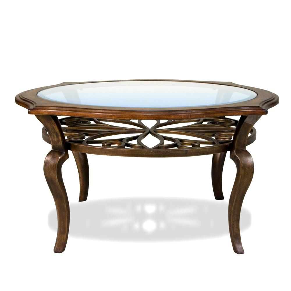 riverside furniture serena round coffee cocktail table ahfa