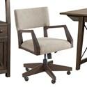 Riverside Furniture Sheffield Upholstered Desk Chair - Item Number: 58839