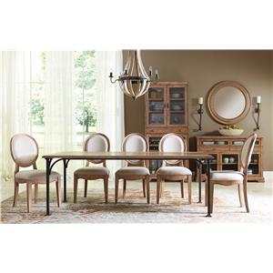Riverside Furniture Sherborne Formal Dining Room Group 3