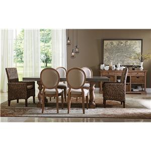 Riverside Furniture Sherborne Formal Dining Room Group 5