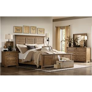 Riverside Furniture Sherborne King Bedroom Group 2