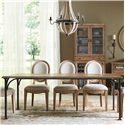 Riverside Furniture Sherborne Bunching Cabinet w/ Mesh Metal Grille