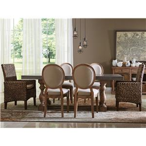 Riverside Furniture Sherborne 7 Piece Table and Chair Set